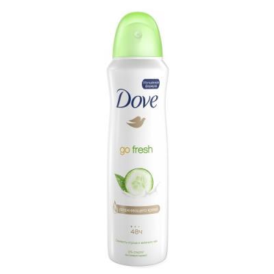 Дезодорант-антиперспирант Dove Прикосновение свежести 150 мл зеленый чай 67078242 dove крем мыло прикосновение свежести 135 гр