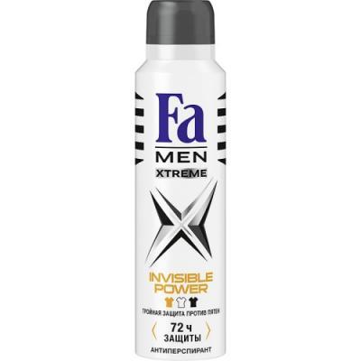 Дезодорант-антиперспирант Fa Xtreme Invisible 150 мл дезодорант аэрозоль fa men xtreme invisible