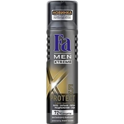 Дезодорант-антиперспирант Fa Xtreme Protect 5 150 мл дезодорант аэрозоль fa men xtreme invisible
