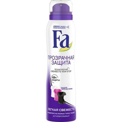 "цены на Дезодорант-антиперспирант Fa ""Sport: Прозрачная защита"" 150 мл в интернет-магазинах"