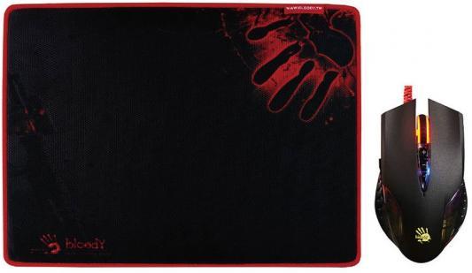 лучшая цена Мышь проводная A4TECH Bloody Q5081S чёрный USB