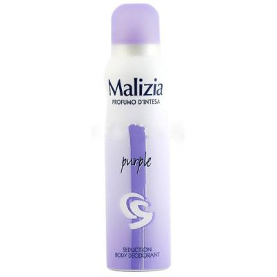 MALIZIA Дезодорант PARFUM DEOD PURPLE 150 мл дезодорант ролл 48 часов для женщин lavilin 65 мл hlavin