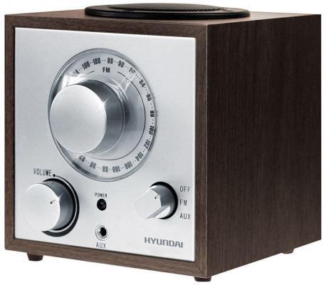 Радиоприемник Hyundai H-SRS100 венге радиоприемник rolsen rfm 330