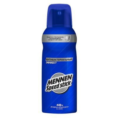 MENNEN SPEED STICK Дезодорант-спрей Антибактериальный эффект 150мл дезодорант hlavin дезодорант спрей для обуви