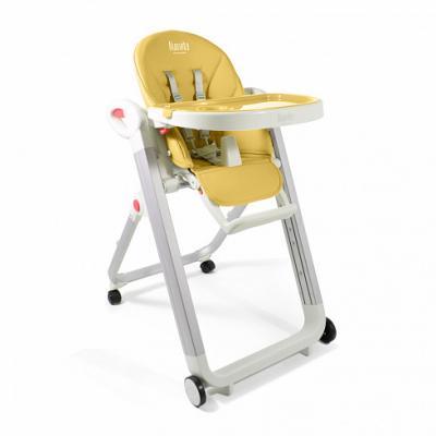 Купить Стульчик для кормления Nuovita Futuro Bianco (giallo), жёлтый, металл + пластик, Стульчики для кормления