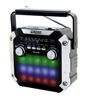 Радиоприемник Сигнал РП-228 черный радиоприемник сигнал cr 169 черный
