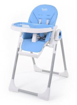 Купить Стульчик для кормления Nuovita Grande (blu), голубой, металл + пластик, Стульчики для кормления
