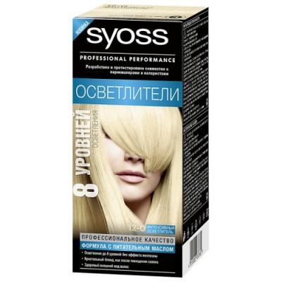 Syoss Color Краска для волос 12-0 Интенсивный осветлитель