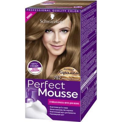 PERFECT MOUSSE Краска для волос 757 Имбирное Печенье 92,5 мл мусс тонирующий тон 1 sand soft touch matt mousse essence