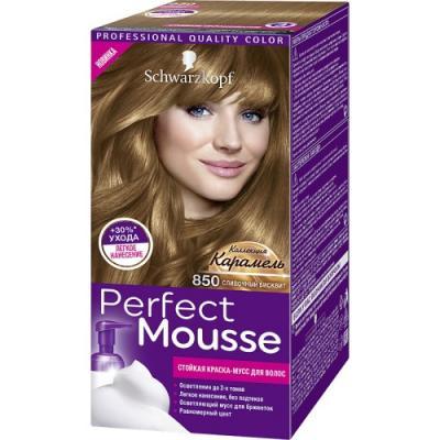 PERFECT MOUSSE Краска для волос850 Сливочный Бисквит 92,5 мл цена