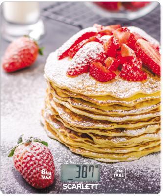 Весы кухонные Scarlett SC-KS57P34 рисунок цена и фото