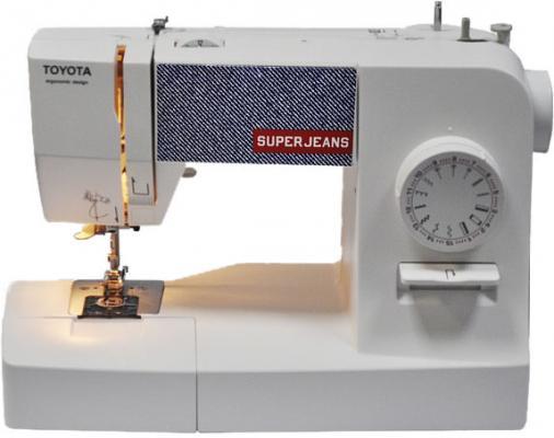 Швейная машина Toyota SuperJeans белый швейная машина vlk napoli 2400