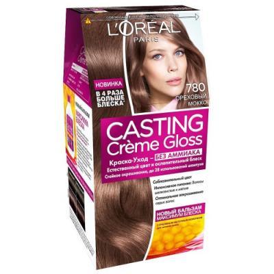 LOREAL CASTING CREME GLOSS Крем-Краска для волос тон 780 Ореховый мокко недорого
