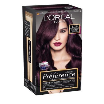 LOREAL PREFERENCE Краска для волос тон 4.26 Благородный сливовый