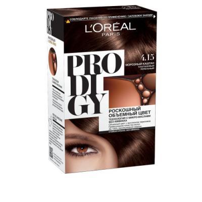 LOREAL PRODIGY Краска для волос тон 4.15 морозный каштан