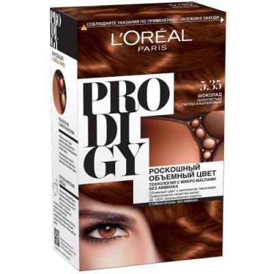 LOREAL PRODIGY Краска для волос тон 5.35 шоколад