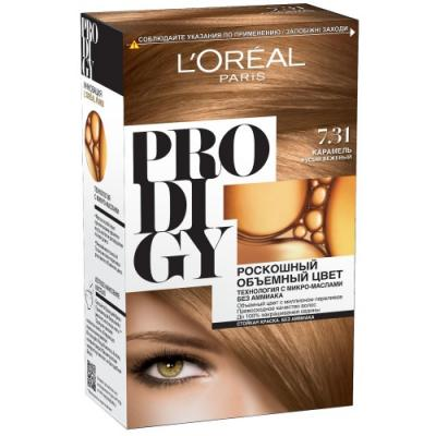 LOREAL PRODIGY Краска для волос тон 7.31 карамель