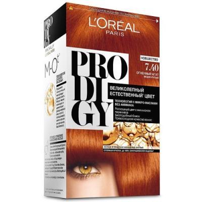LOREAL PRODIGY Краска для волос тон 7.40 огненный агат
