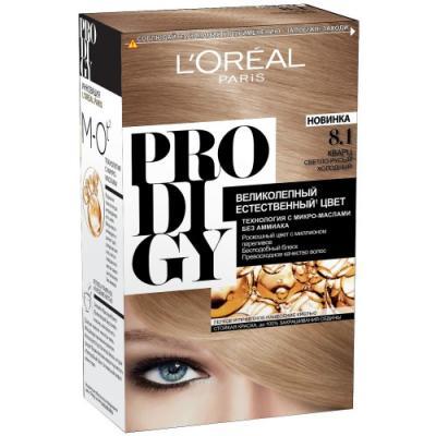 LOREAL PRODIGY Краска для волос тон 8.1 кварц