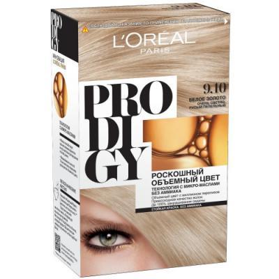 LOREAL PRODIGY Краска для волос тон 9.10 белое золото
