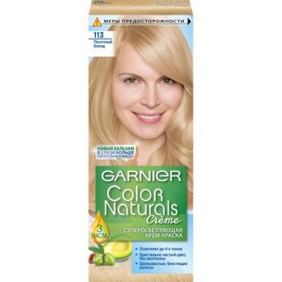 GARNIER Краска для волос COLOR NATURALS 113 Песочный Блондин garnier стойкая крем краска для волос olia без аммиака 10 1 пепельный блондин