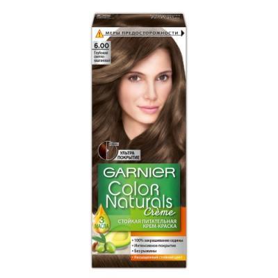GARNIER Краска для волос Color Naturals 6.00 Глубокий светло-каштановый