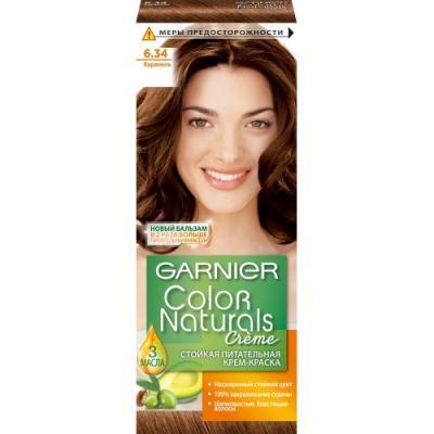 GARNIER Краска для волос COLOR NATURALS 6.34 Карамель