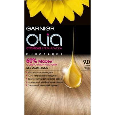 GARNIER Краска для волос OLIA 9.0 Очень светло-русый краска для волос garnier garnier ga002lwivs40