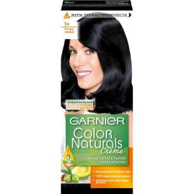 GARNIER Краска для волос COLOR NATURALS 1 Ультра Черный garnier g22 1