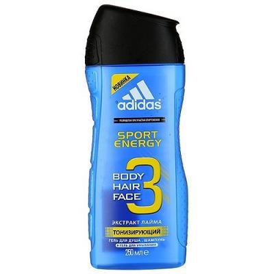 Adidas Sport Energy гель для душа для мужчин 250мл adidas deep energy