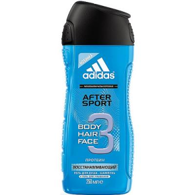 Adidas After Sport гель для душа для мужчин 250мл набор гель для душа adidas shower gel male after sport