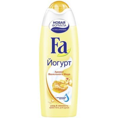 Fa Гель для душа YOGHURT Ванильный мед 250мл гели fa гель для душа yoghurt алоэ вера 250 мл