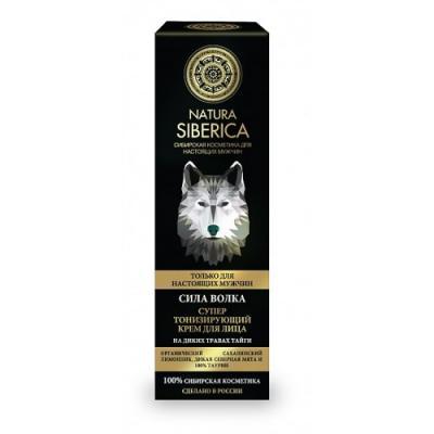 Natura Siberica Крем для лица тонизирующий MEN Сила волка 50мл косметика для мамы natura siberica крем для лица ночной для комбинированной и жирной кожи 50 мл