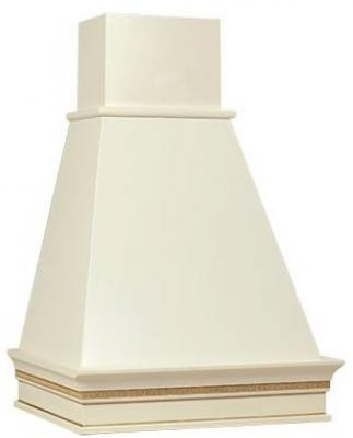 Вытяжка каминная Elikor Капелла 60П-700-П3Д бежевый/бук белый/золотистый вытяжка elikor рубин s4 90п 700 э4д антрацит черное