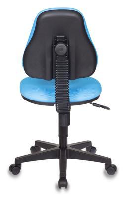 Кресло детское Бюрократ KD-4/TW-55 голубой кресло детское бюрократ kd 4 cosmos синий космос cosmos