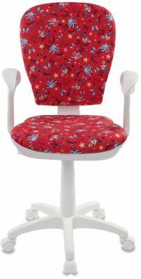 купить Кресло детское Бюрократ CH-W513AXN/ANCHOR-RD красный якоря недорого
