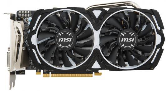 Видеокарта MSI Radeon RX 570 Radeon RX 570 ARMOR 8G OC PCI-E 8192Mb GDDR5 256 Bit Retail видеокарта sapphire amd radeon rx 570 11266 36 20g pulse rx 570 8g oc 8гб gddr5 ret
