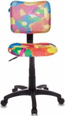 Кресло детское Бюрократ CH-295/ABSTRACT спинка сетка мультиколор абстракция