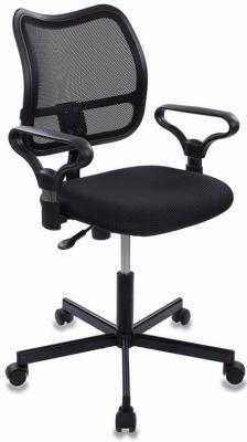 Кресло Бюрократ CH-799M/TW-11 черный кресло компьютерное бюрократ бюрократ ch 899sl tw 11 черный хром