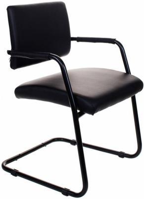 Кресло Бюрократ CH-271-V/OR-16 черный кресло бюрократ ch 271 v на полозьях искусственная кожа [ch 271 v sl or 10]