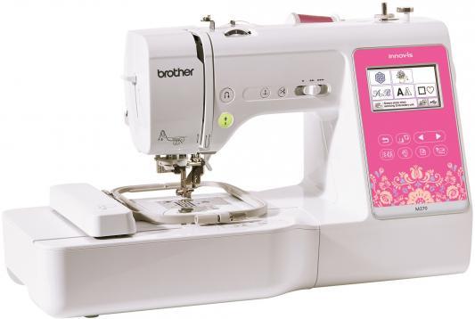 Швейная машина Brother M270 белый/розовый швейная машина brother nv150 белый
