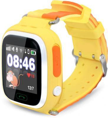 Смарт-часы Ginzzu GZ-505 1.22 IPS желтый (00-00000980) ginzzu gz 505 yellow