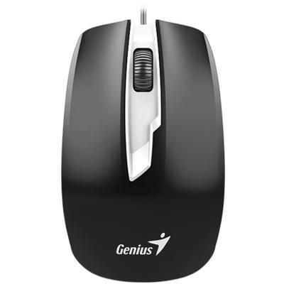 Мышь проводная Genius DX-180 чёрный USB