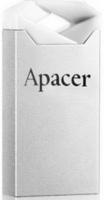 Флешка USB 16Gb Apacer Flash Drive AH111 AP16GAH111CR-1 серебристый usb flash drive 16gb smartbuy x cut sky sb16gbxc sb