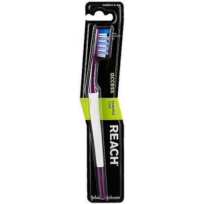 REACH Access зубная щетка средняя aquafresh зубная щетка in between средней жесткости зубная щетка in between средней жесткости 1 шт