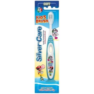 Зубная щётка детская Silver Care Кидз Браш silver care зубная щетка kids brush на подставке мягкая от 2 до 6 лет цвет оранжевый