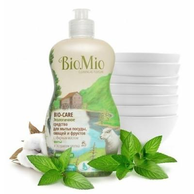 Средство для мытья посуды BioMio Bio-Care 450мл ЭА-240 бытовая химия bio mio средство для мытья посуды овощей и фруктов biomio bio care концентрат 450 мл