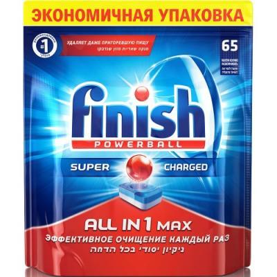 Таблетки для посудомоечной машины Finish All in1 Max 65шт 3018751 вальсакор 160мг 90 таблетки