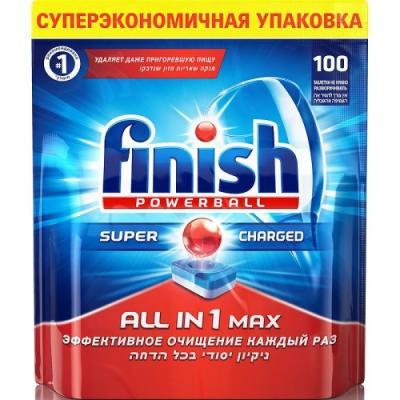 FINISH All in1 Max Средство для мытья посуды в посудомоечных машинах таблетки 100шт паксил таблетки 20мг 100шт