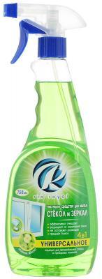 RIO ROYAL Средство для мытья стекол и зеркал Зеленое яблоко 750мл средство для мытья стекол и глазурованной плитки ludwik с ароматом зеленого яблока 750 мл